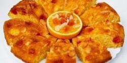 Narancsos-papajás kuglóf
