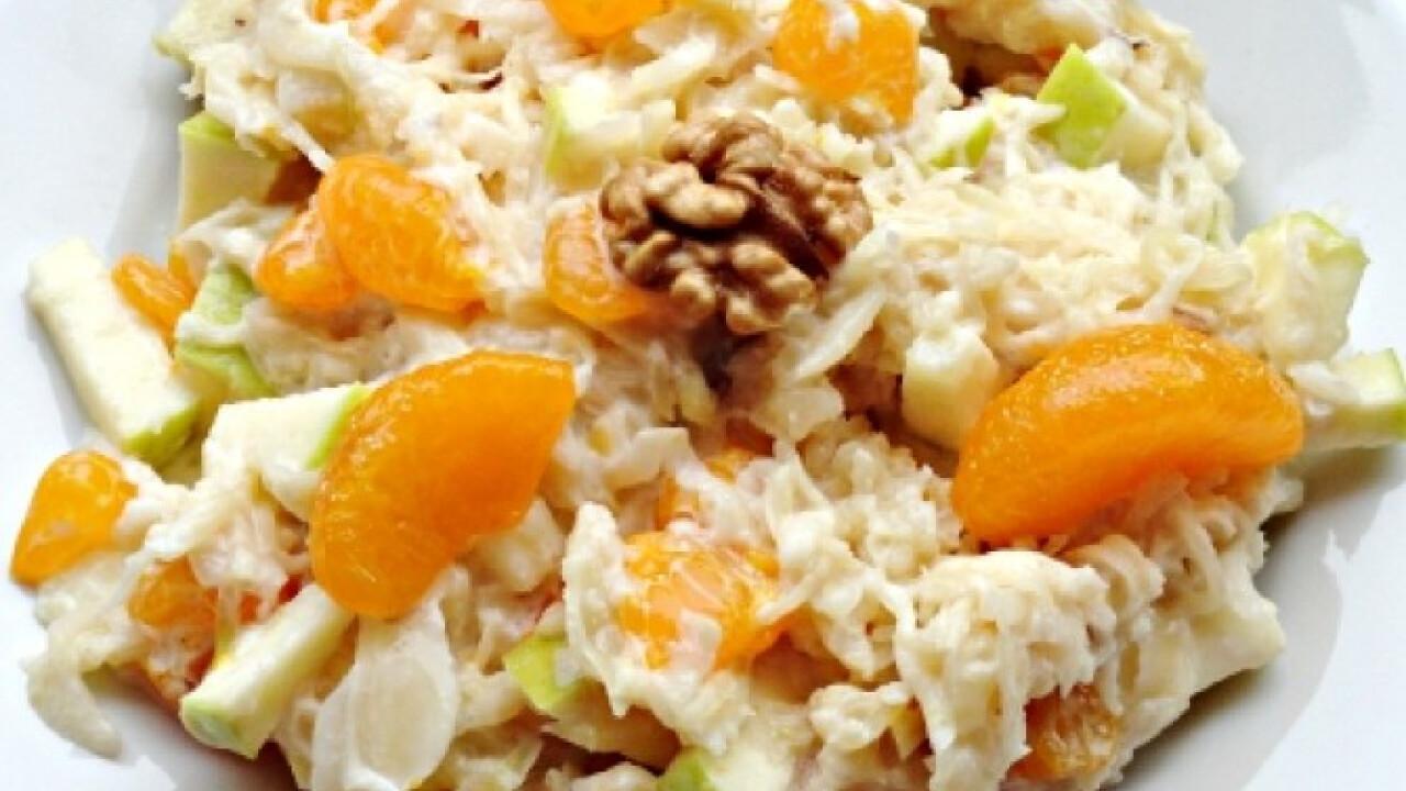 Mandarinos savanyú káposzta-saláta