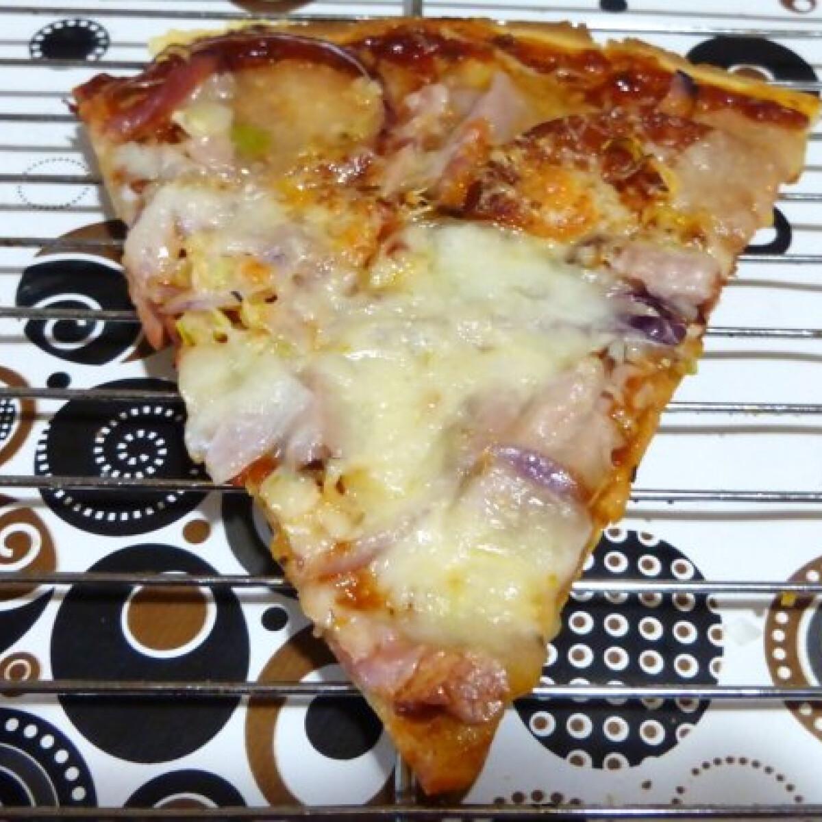 Egészségesebb pizzatészta