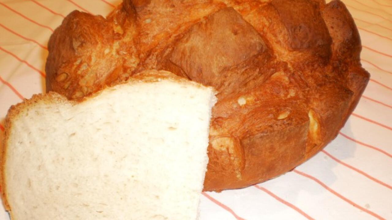 Kockás burgonyás kenyér