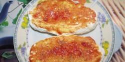 Gluténmentes pizzás kifli