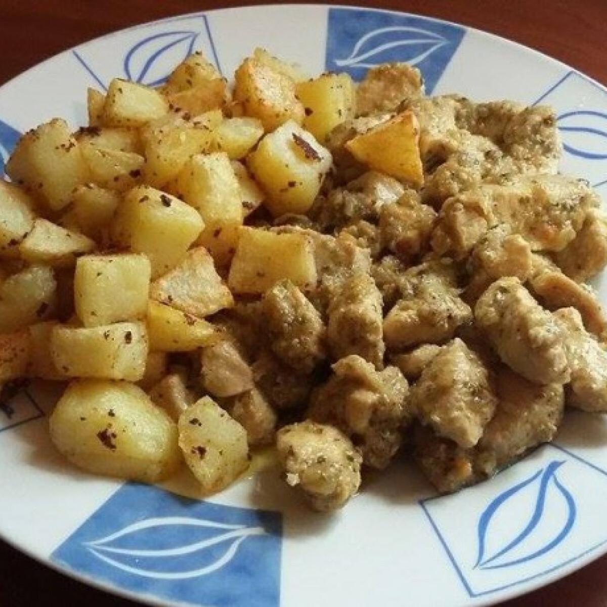Ezen a képen: Brassói aprópecsenye Anett konyhájából