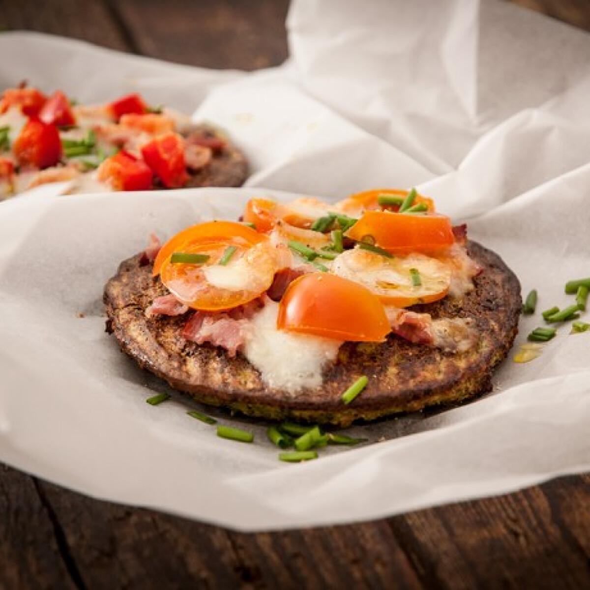 Ezen a képen: Brokkoli alapú pizza Grétitől