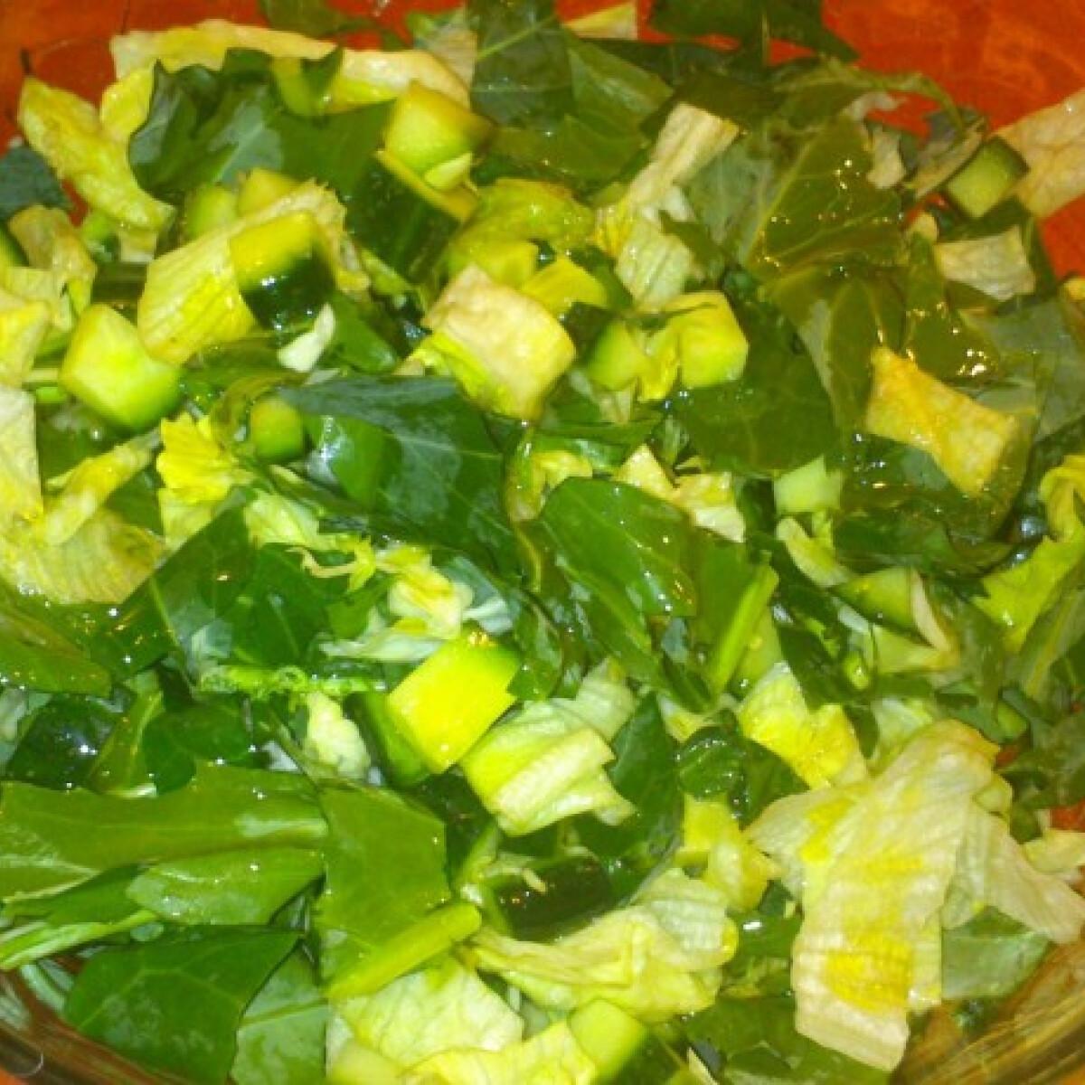 Karalábélevél saláta