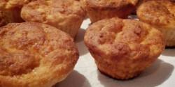 Diétás túrós muffin