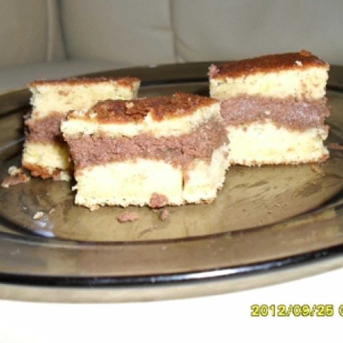 Ezen a képen: Párizsi krémes sütemény