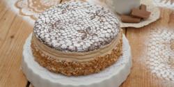 Karamellkrém-torta