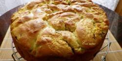 Fokhagymás-vajkrémes kenyér