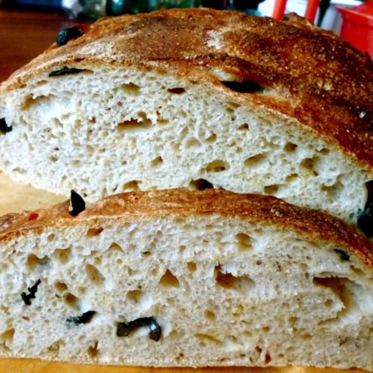Ezen a képen: Dagasztás nélküli kenyér Torma konyhájából