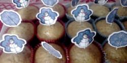 Almás muffin fahéjjal