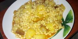 Tarhonyás krumplis egytálétel
