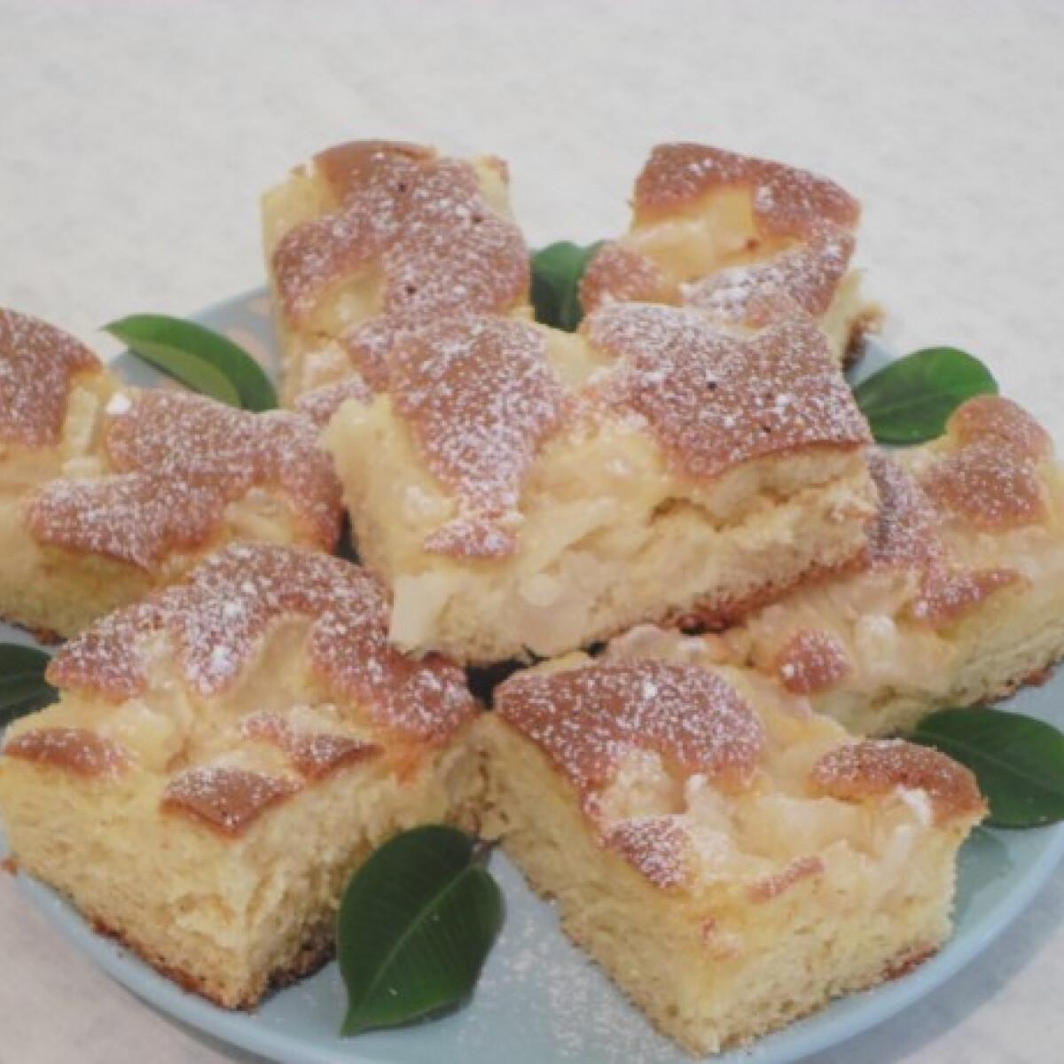 Ezen a képen: Ananászos kevert süti