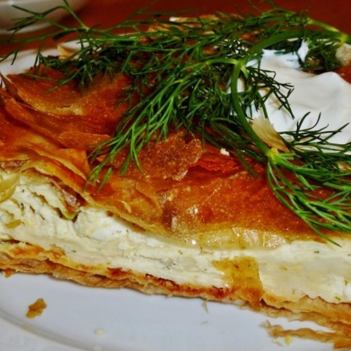 Ezen a képen: Gibanyica Márti konyhájából
