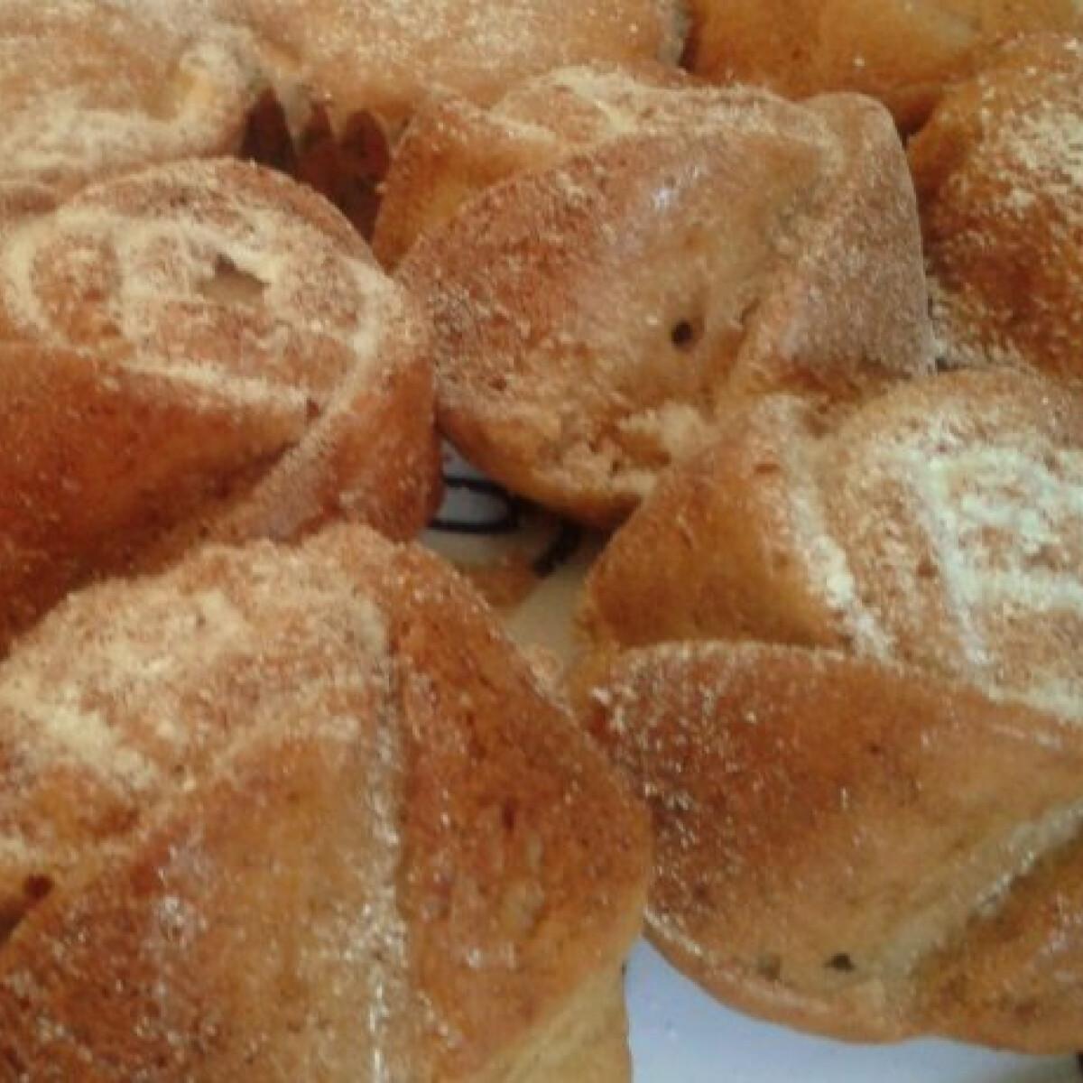 Ezen a képen: Gyümölcsös-joghurtos muffin