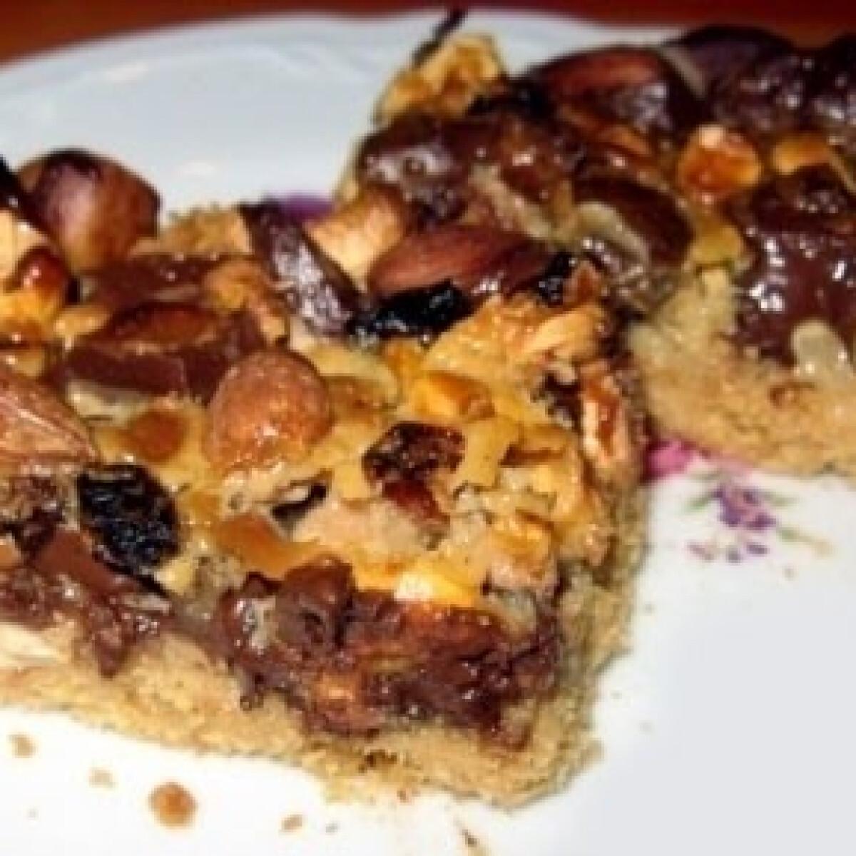 Ezen a képen: Diákcsemegés-csokis süti