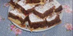 Szilvás-körtés süti