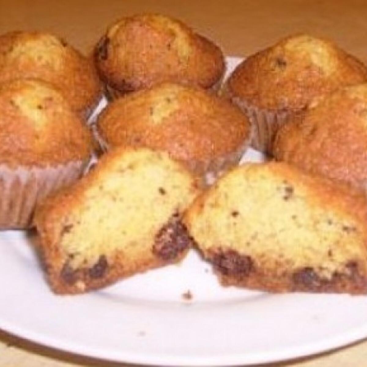 Straciatella muffin