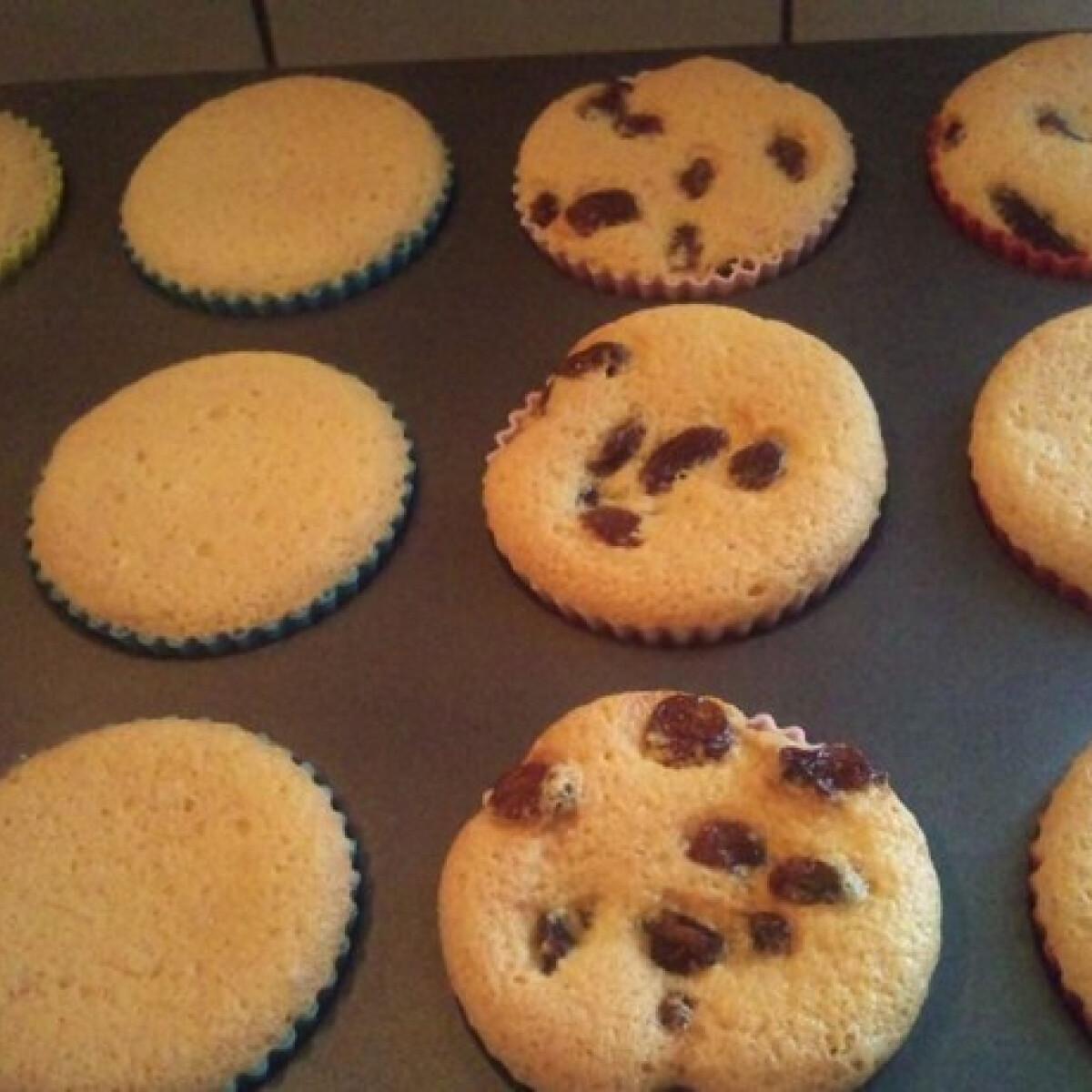 Piskóta alapú muffin Chrissy konyhájából