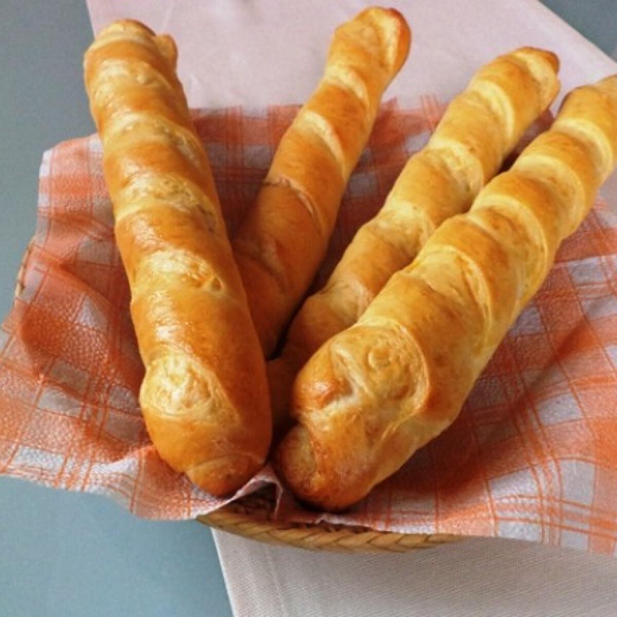 Francia vékony bagett Gabystól