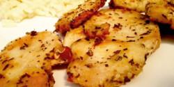 Citromos-bazsalikomos csirkemell