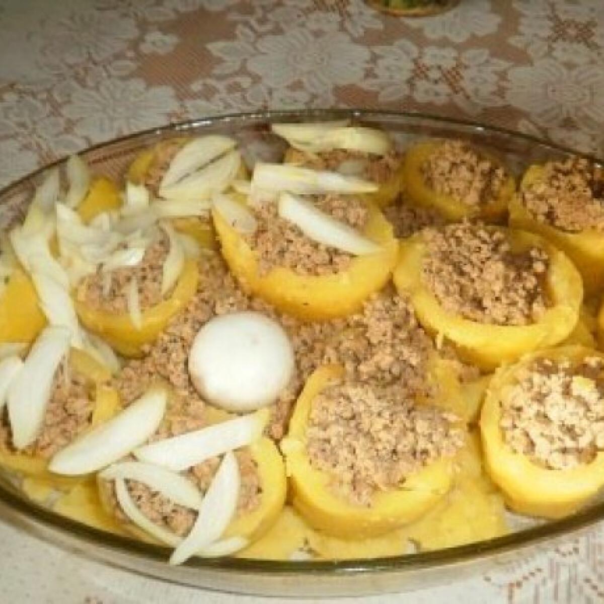 Ezen a képen: Darált hússal töltött krumpli 5.
