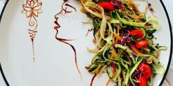 Fűszeres cukkini-spagetti (friss-üde)