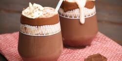 Egyszerű forró csokoládé házilag