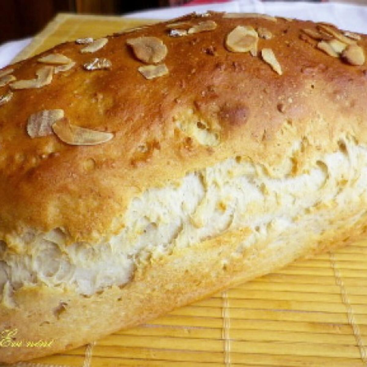 Mandulás-rozsos kenyér