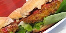 Vegetáriánus hamburger Daniella konyhájából