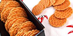 Paprikás sajtos tallér