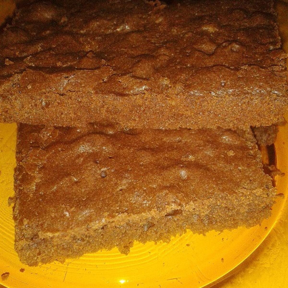 Ezen a képen: Francia brownie Evicaa konyhájából