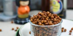 Ázsiai fűszerezésű, pirított csicseriborsó