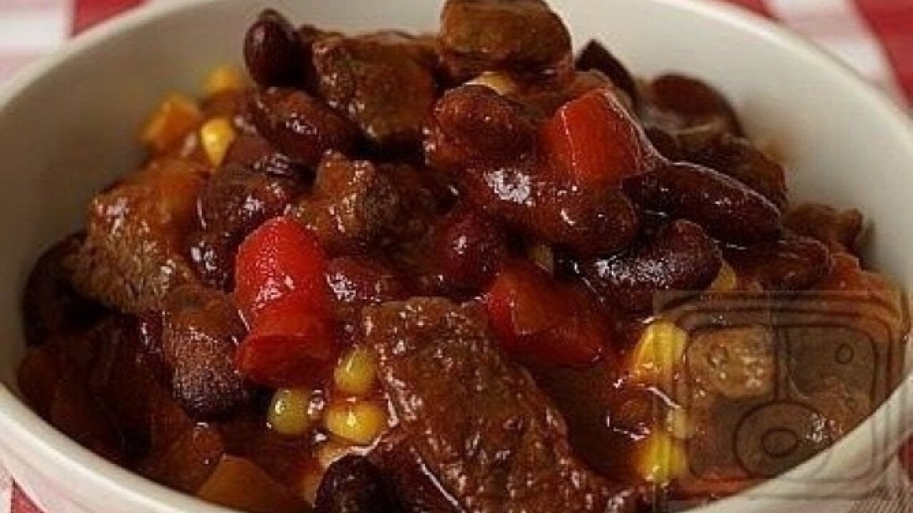 Igazi chili con carne (Chilis bab 3.)