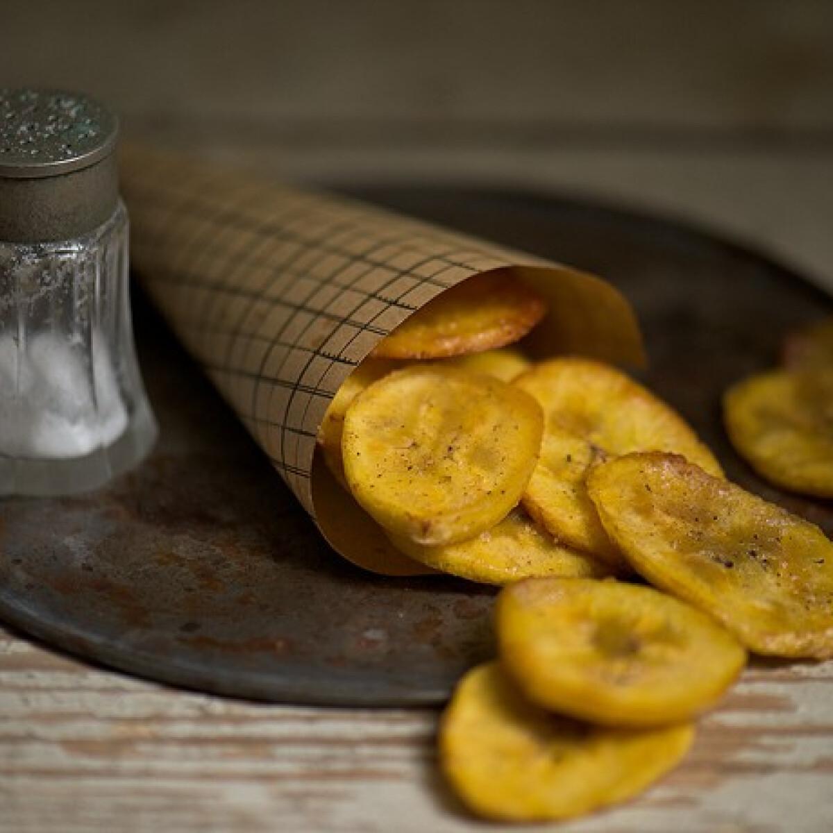 Ezen a képen: Banáncsipsz