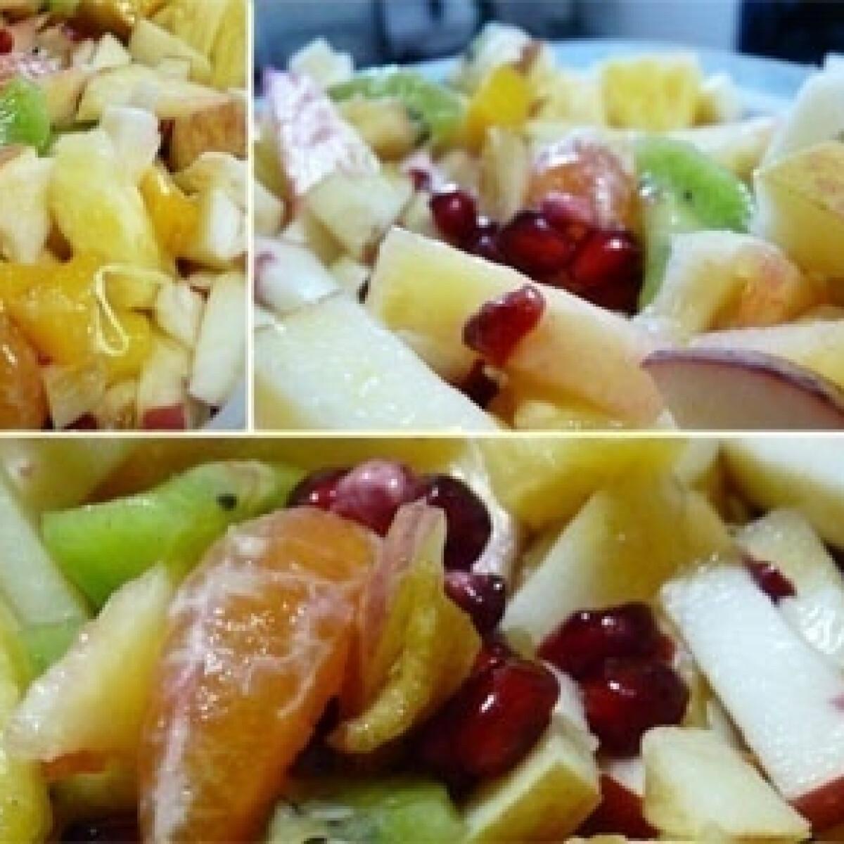 Ezen a képen: Téli gyümölcssaláta
