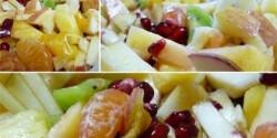 Téli gyümölcssaláta