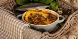 Spenótos tojásreggeli - casserole