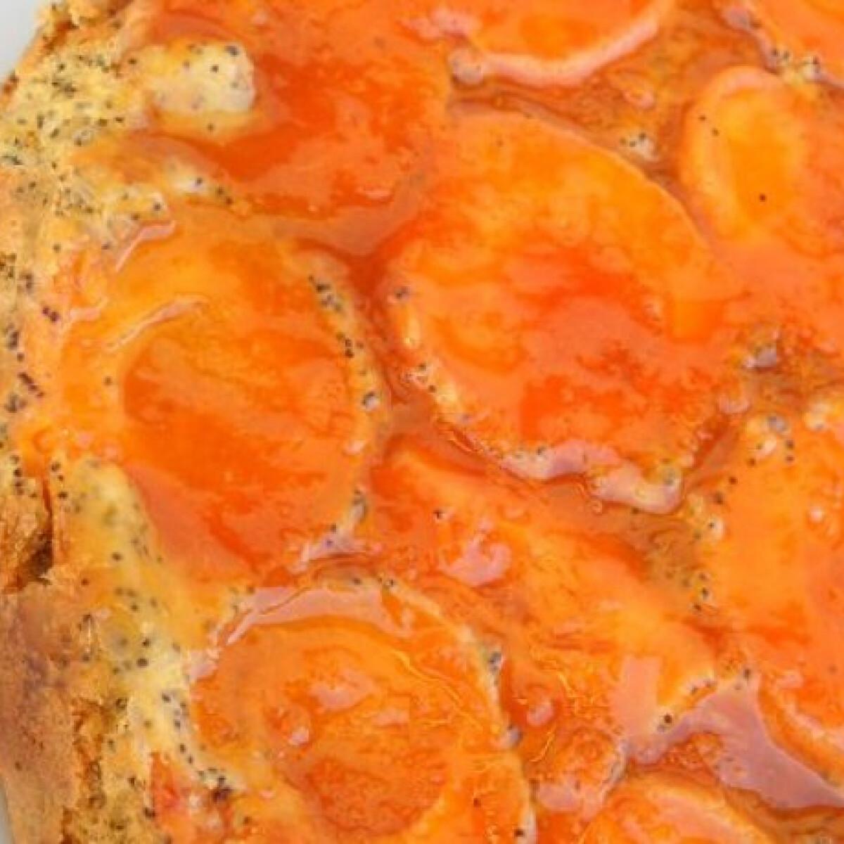 Ezen a képen: Mákos sárgabarack-torta