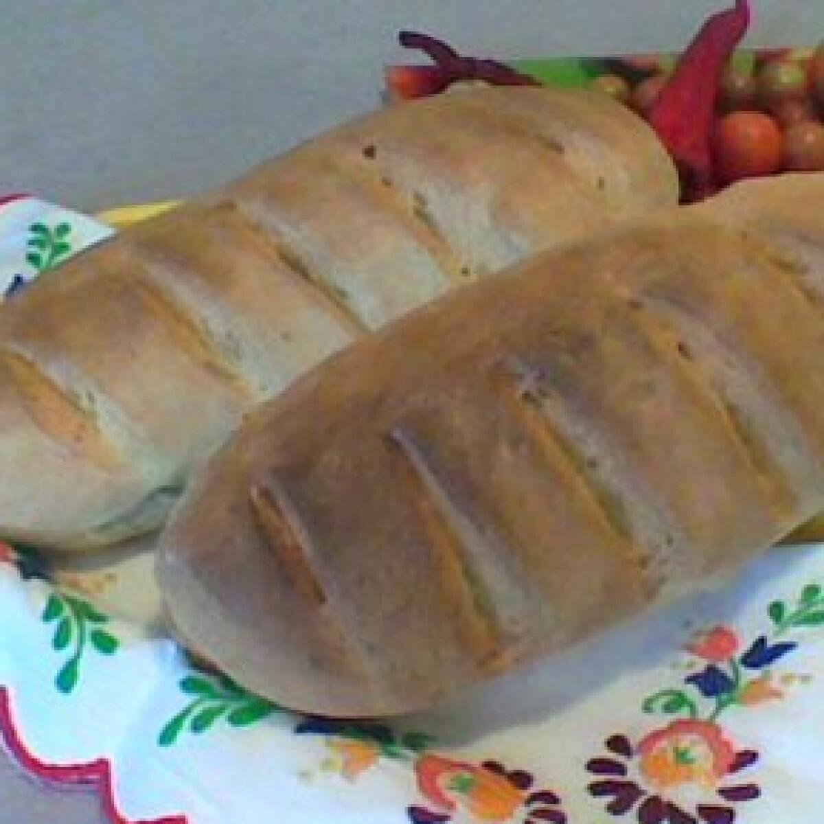 Ezen a képen: Az én házi kenyerem - Házi fehér kenyér 8.