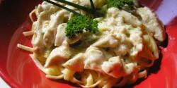 Olasz tejszínes tésztás csirke