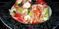 Görög saláta Zsuzsanna konyhájából