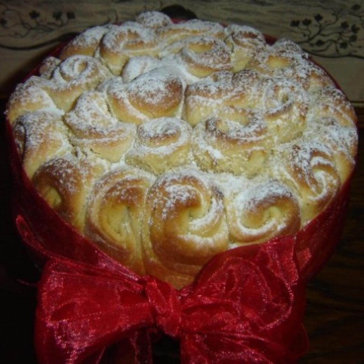 Rózsa kalács Györgyi konyhájából