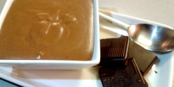 Egyszerű csokoládé mousse