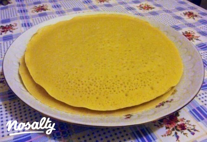 Ezen a képen: Baghrir - marokkói palacsinta