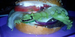 Hamburger házi hamburgerhússal
