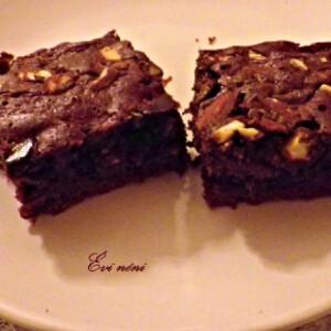 Brownie Évi nénitől
