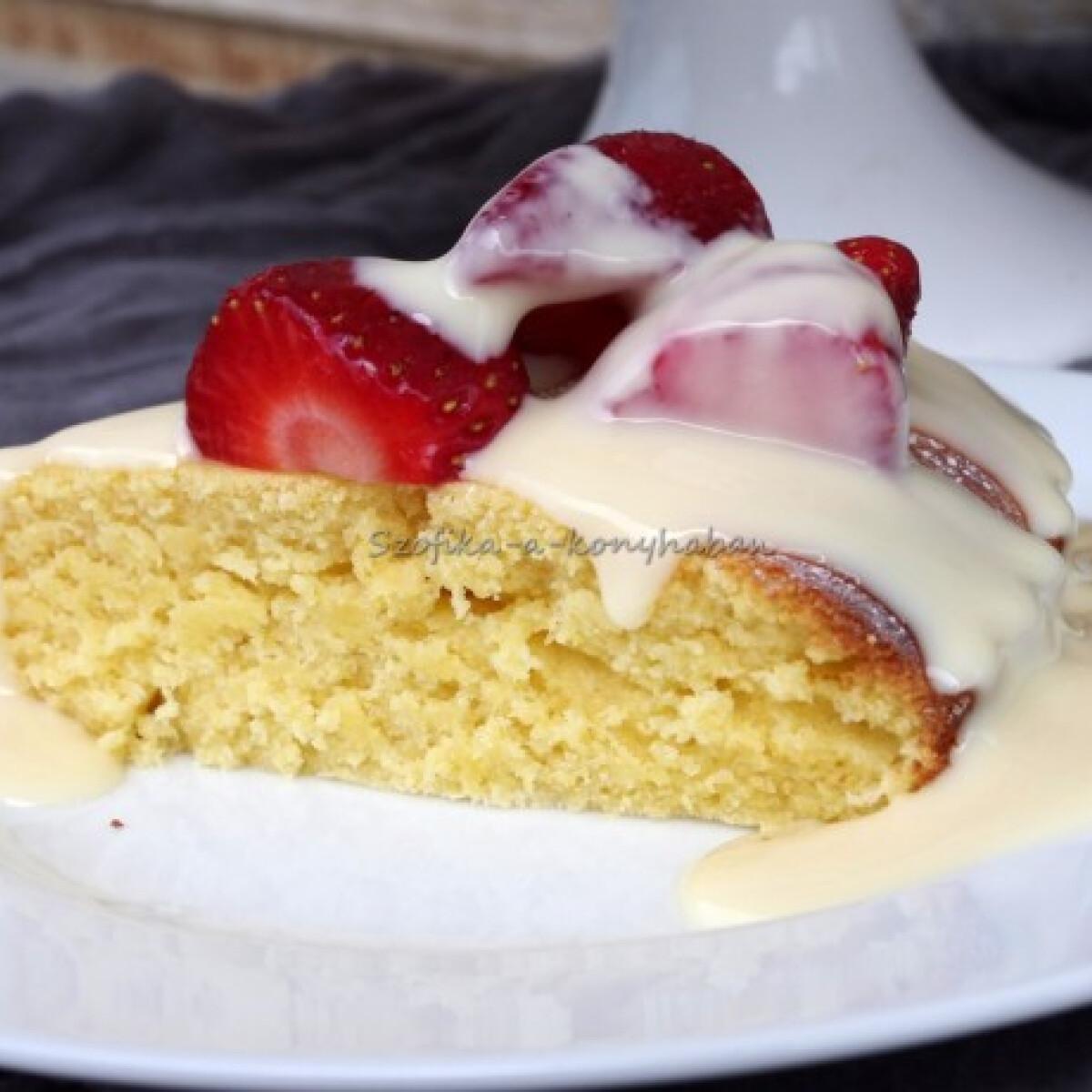 Citromos polenta-torta