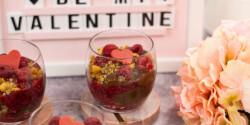 Valentin-napi pohárkrém