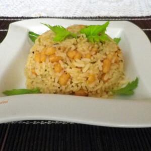 Babos-kókuszos rizs