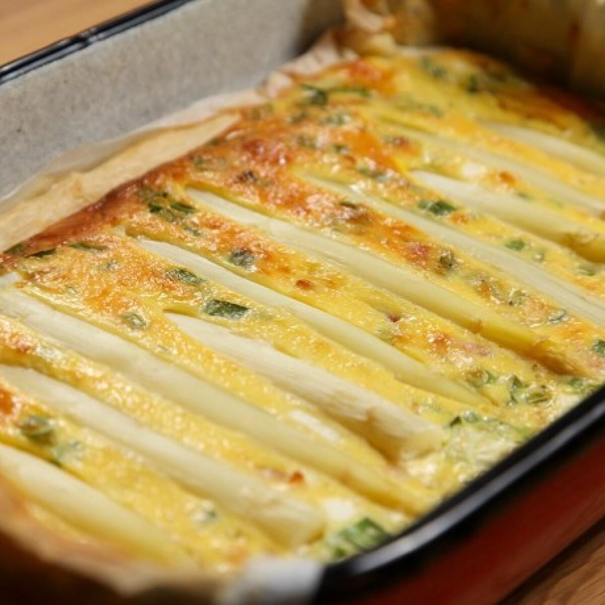 Ezen a képen: Spárgás quiche SPAR konyhájából